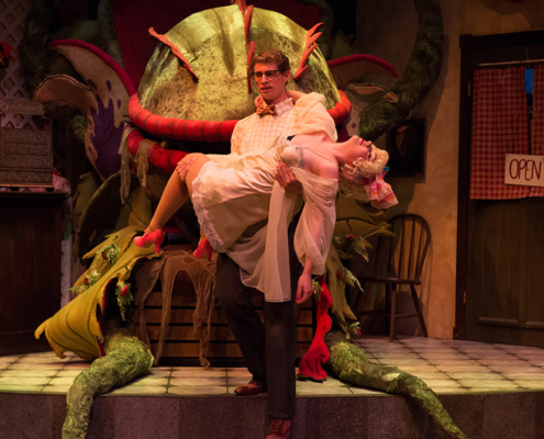 Theatre Arts Program at SOU - Production of Little Shop of Horrors