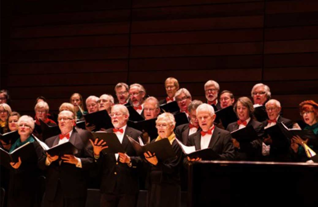 Siskiyou Singers Performing in Chamber Hall