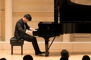 Anson Ka lik Sin at Carnegie Hall